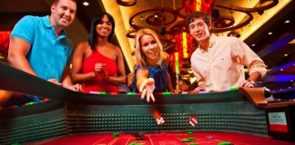 Casino Craps playing