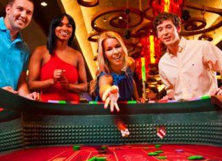 Casino Craps playing