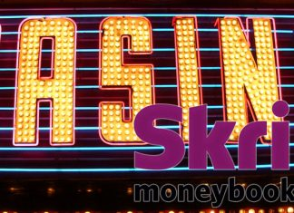 Gambling Casino with Skrill Logo on it