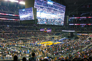 NBA Finals stadium