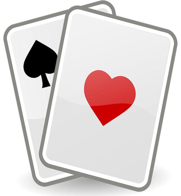 Online gambling cards