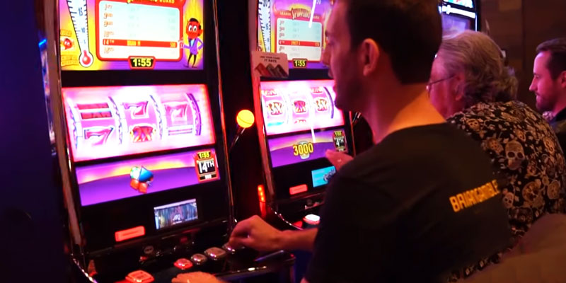 Casino Guy Plaing Tournament in Slots